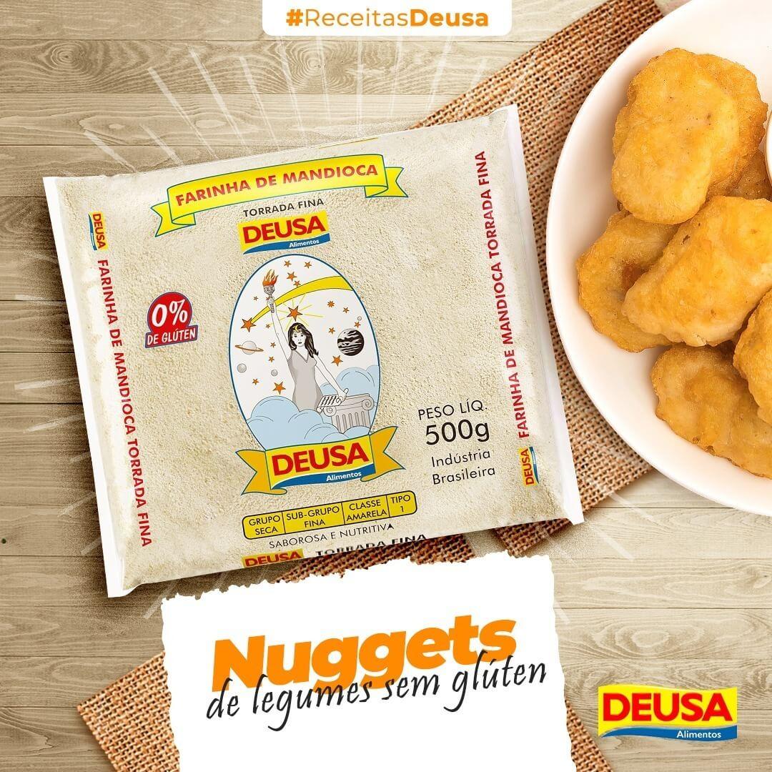 Como Fazer Nuggets De Legumes Sem Glúten Assado