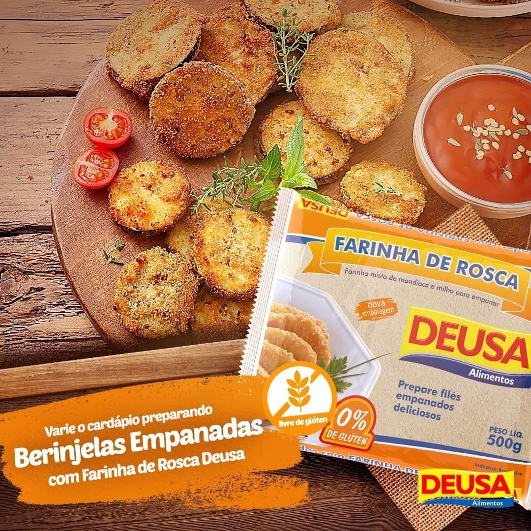 Dica Deusa: Berinjela Empanada Com Farinha De Rosca