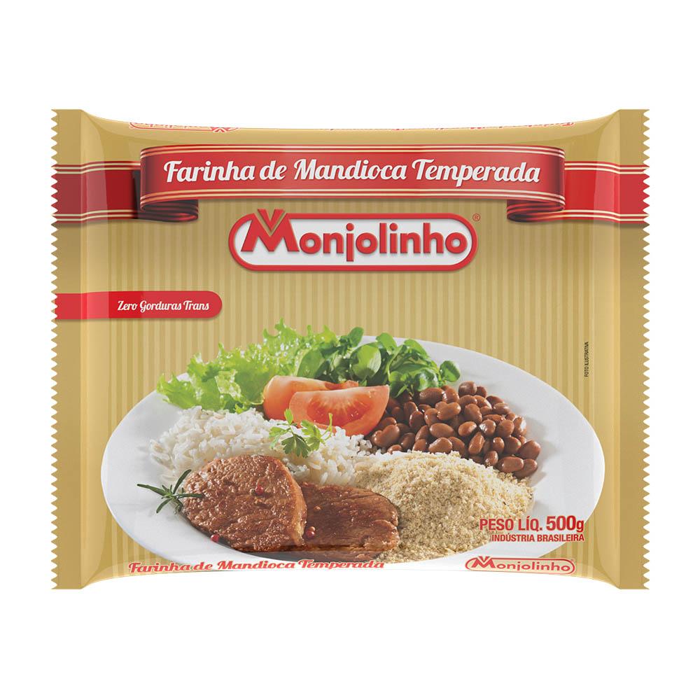 Farinha de Mandioca Temperada 500g