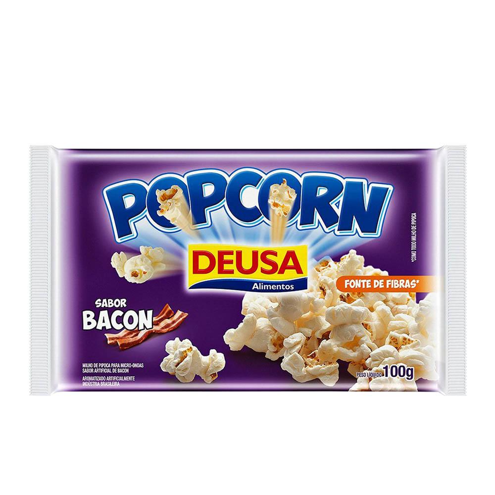 Pipoca de Microondas sabor Bacon