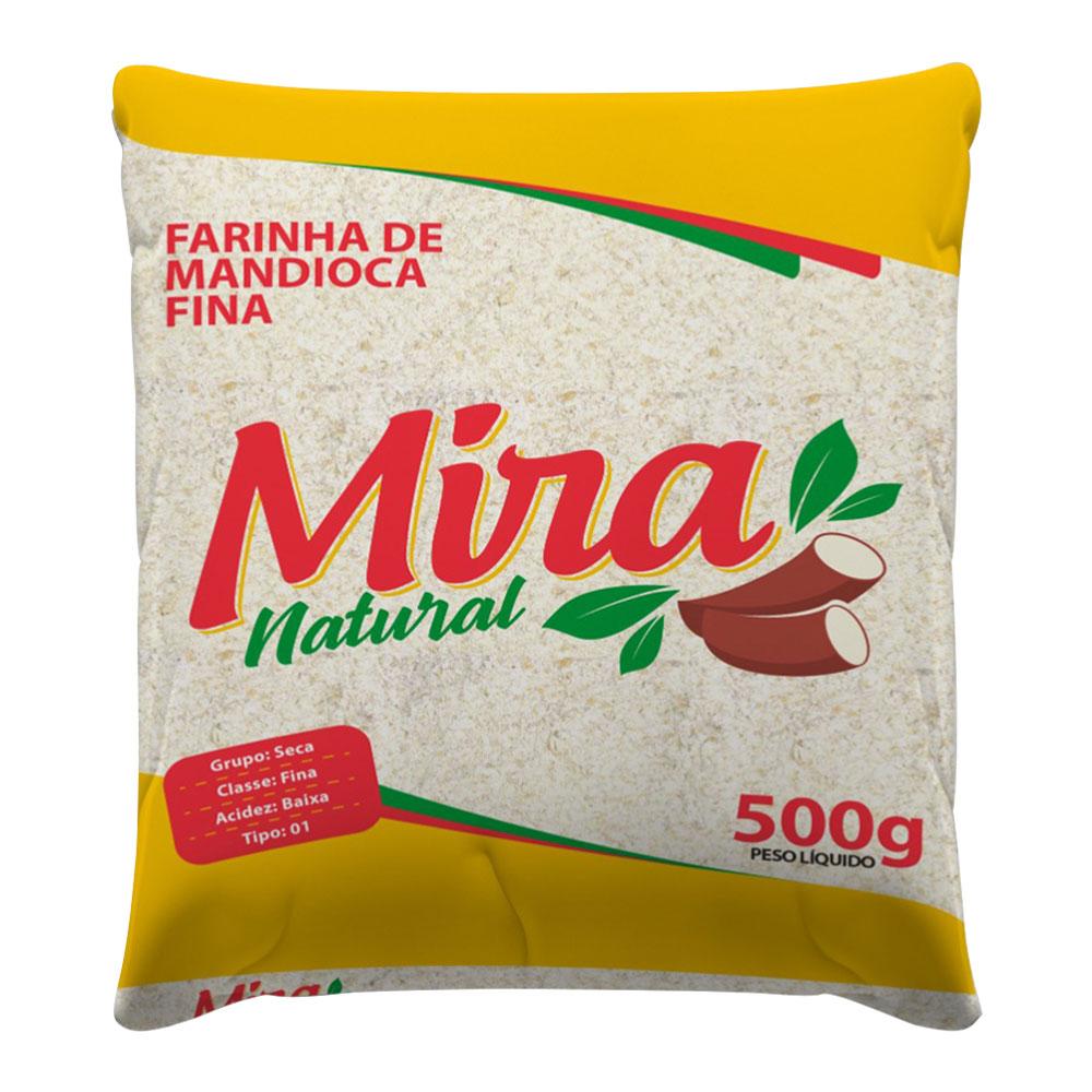 Farinha de Mandioca Fina 500g